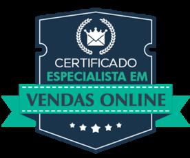 Selo Especialista em Vendas Online